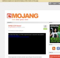 mojang.com screenshot