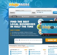 mojopages.com screenshot