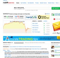 money.rediff.com screenshot