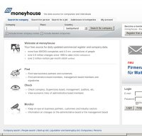moneyhouse.ch screenshot