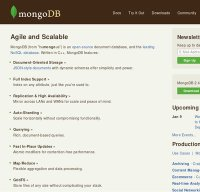 mongodb.org screenshot