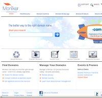 moniker.com screenshot