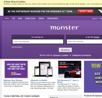 monster.co.uk screenshot