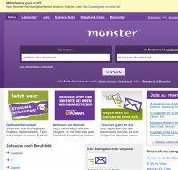 monster.de screenshot