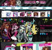 monsterhigh.com screenshot