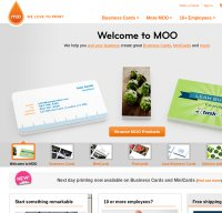 moo.com screenshot