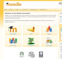 moodle.org screenshot
