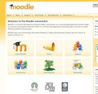 moodle.org screenshot