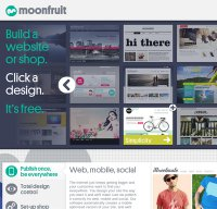 moonfruit.com screenshot