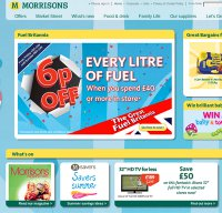 morrisons.co.uk screenshot