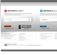 motorola.com screenshot
