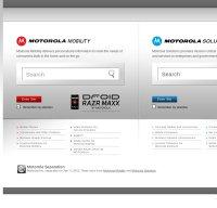 motorola.com screenshot