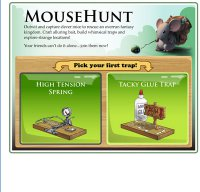 mousehuntgame.com screenshot