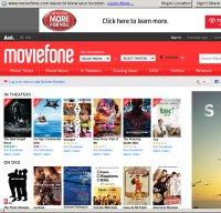 moviefone.com screenshot