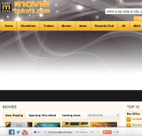 movietickets.com screenshot