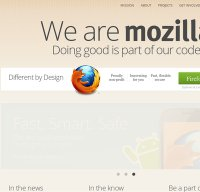 mozilla.org screenshot