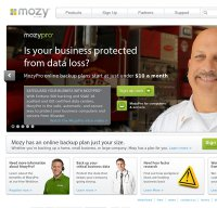 mozy.com screenshot