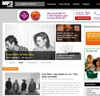mp3.com screenshot