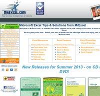 mrexcel.com screenshot