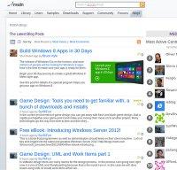 msdn.com screenshot