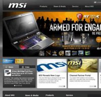 msi.com screenshot