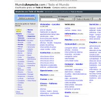 mundoanuncio.com screenshot