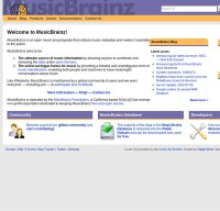 musicbrainz.org screenshot