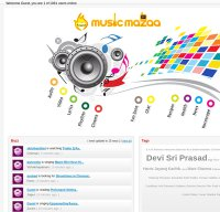musicmazaa.com screenshot
