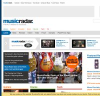 musicradar.com screenshot