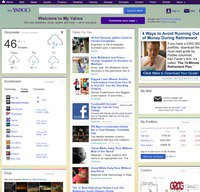 my.yahoo.com screenshot