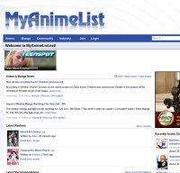 myanimelist.net screenshot