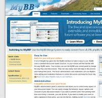 mybb.com screenshot