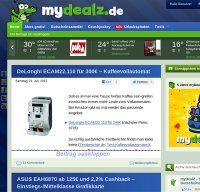 mydealz.de screenshot