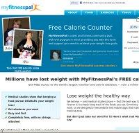 myfitnesspal.com screenshot