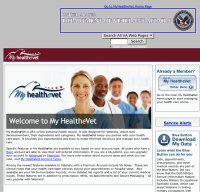 myhealth.va.gov screenshot