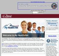 myhealth.va.gov screenshot