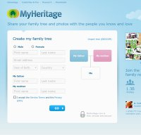 myheritage.com screenshot
