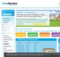 myhermes.co.uk screenshot