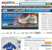 myntra.com screenshot