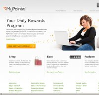 mypoints.com screenshot