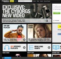 myspace.com screenshot