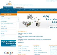 mysql.com screenshot