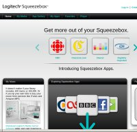 mysqueezebox.com screenshot