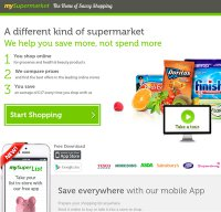 mysupermarket.co.uk screenshot