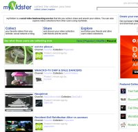 myvidster.com screenshot