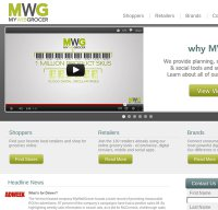 mywebgrocer.com screenshot