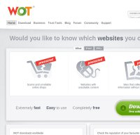 mywot.com screenshot
