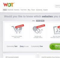 mywot.com screenshot