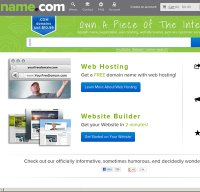 name.com screenshot