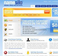 namesilo.com screenshot